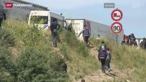 Video «Toter im Eurotunnel» abspielen