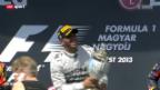 Video «Formel 1: GP von Ungarn» abspielen
