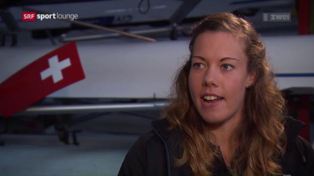 Video «Jeannine Gmelin – Ruderin mit Tiefgang» abspielen