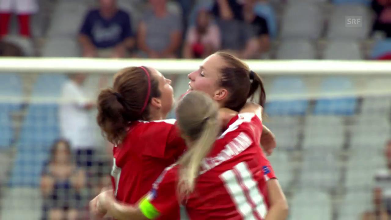 Die Schweiz kämpft sich zum Sieg über Island