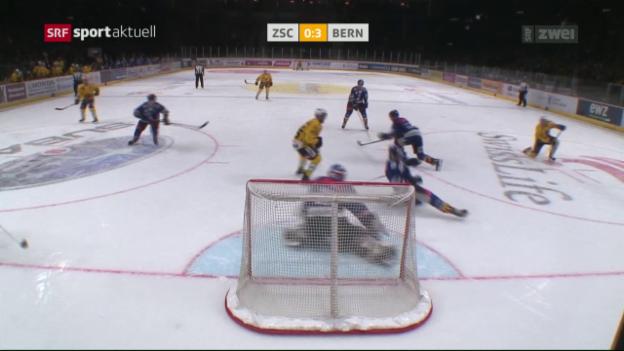 Video «Bern nach Sieg im Spitzenkampf neuer Leader» abspielen