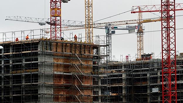 Der Anstieg der Bau-Investitionen ist auf den milden Winter zurückzuführen