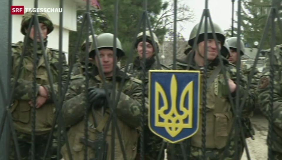 Nervosität in der Ukraine hält an