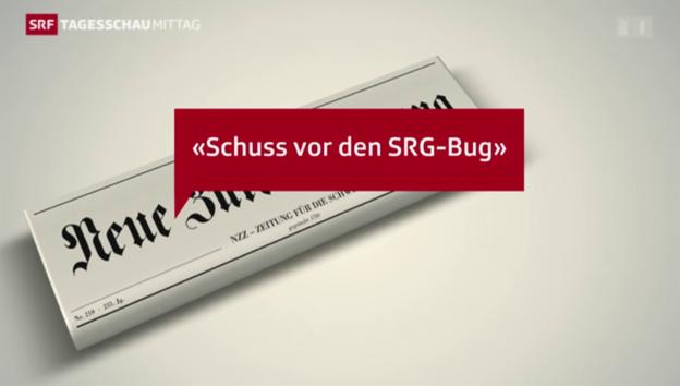Video «Pressereaktionen zum RTVG» abspielen