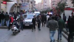 Video «Explosion in Beirut» abspielen