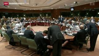 Video «EU-Krisensitzung in Brüssel» abspielen