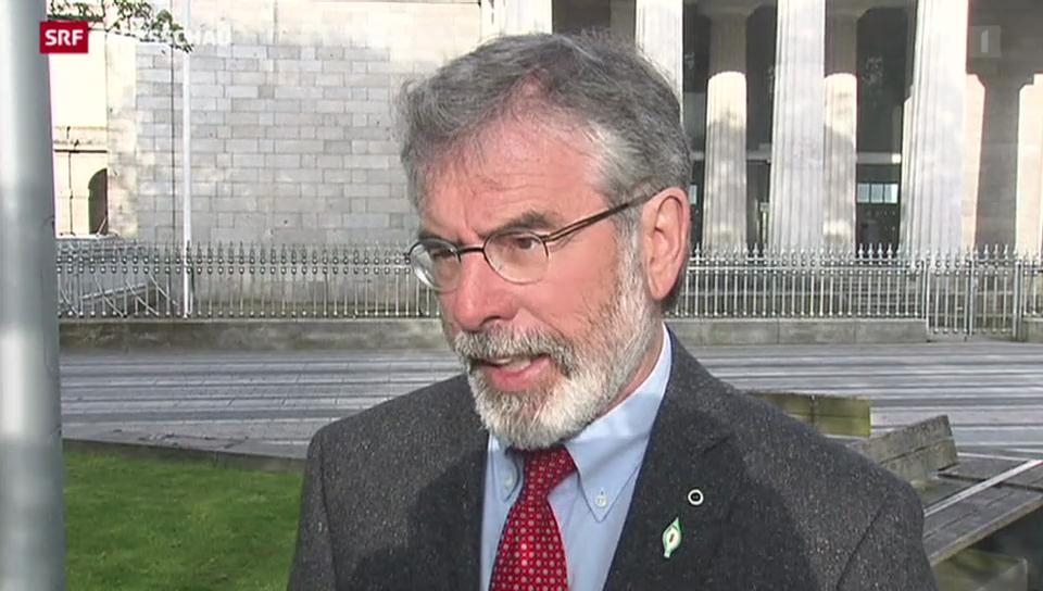 Sinn-Fein-Chef Gerry Adams verhaftet