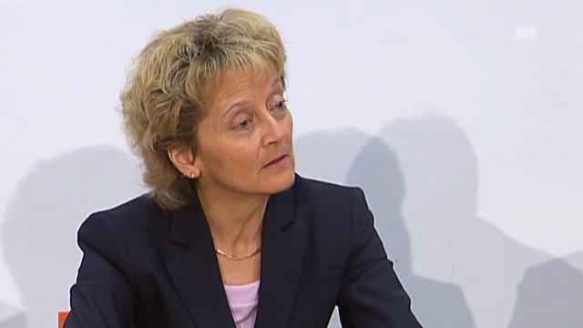 Widmer-Schlumpf: Bewilligungen für Banken werden nicht geheim bleiben