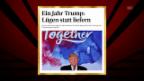 Video «1 Jahr Trump» abspielen