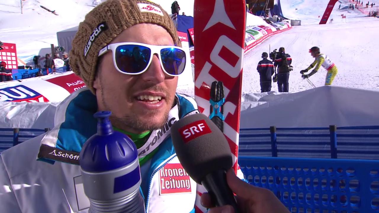 Ski alpin: WM 2015 in Vail/Beaver Creek, Riesenslalom der Männer, Silber-Gewinner Marcel Hirscher im Interview