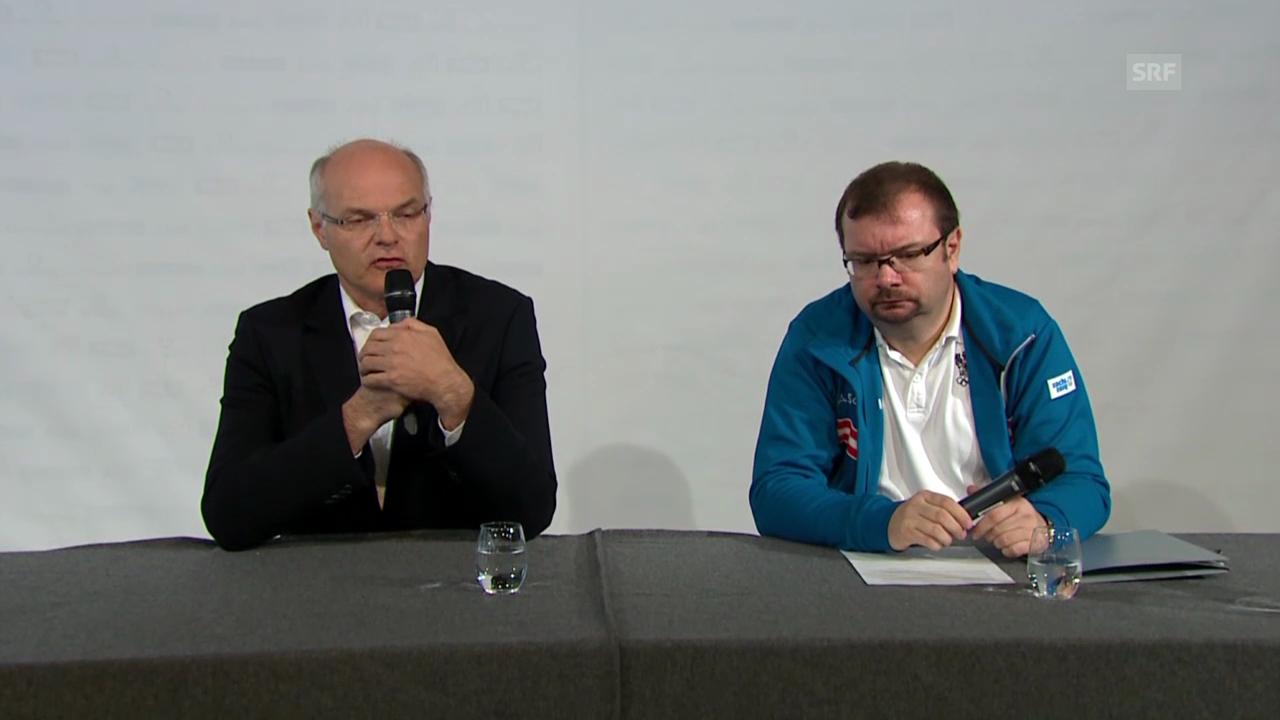 """ÖOC-Präsident Stoss zum """"Fall Dürr"""" (23.02.14)"""