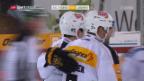Video «Tigers unterliegen Lugano» abspielen