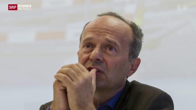 Video «Mehrere Strafanzeigen gegen Zürcher Polizeivorsteher» abspielen