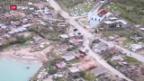 Video «Zerstörerischer Hurrikan «Matthew» trifft auf die Küste Floridas» abspielen