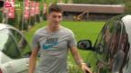 Video «Fussball: Nati-Neuling Steven Zuber» abspielen