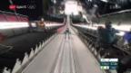 Video «Simon Ammann verpasst die letzte Medaillen-Chance von» abspielen