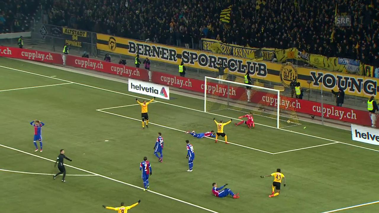 YB schlägt Basel und steht im Cupfinal