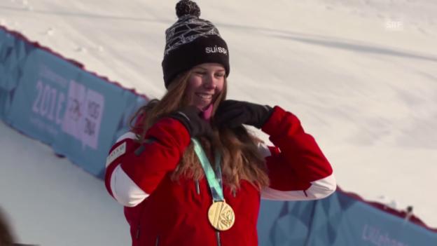 Video «Danioth glänzt an den Olympischen Jugendspielen in Lillehammer» abspielen