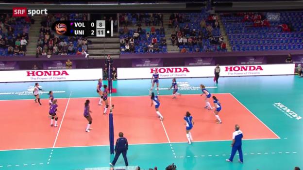 Video «Volero verliert Halbfinal der Klub-WM» abspielen