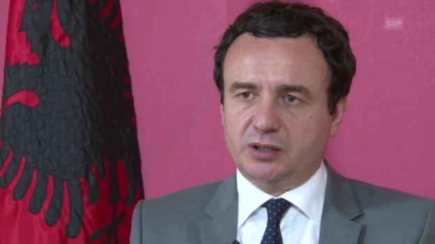 Video «Albin Kurti: «Wir sind links zur übrigen Polit-Szene»» abspielen