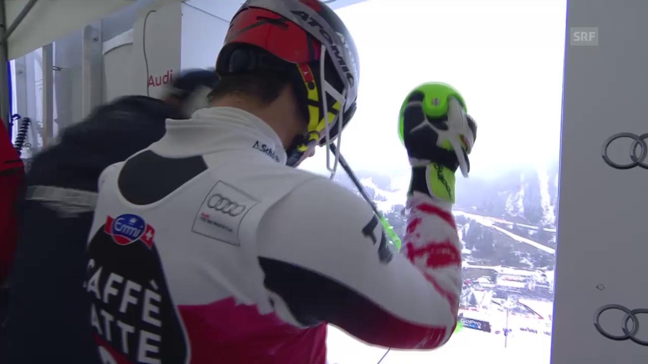 Ski Alpin: Slalom Méribel, 2. Lauf Hirscher