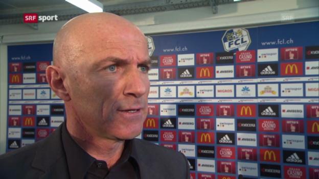 Video «Carlos Bernegger vor seinem Debüt als Luzern-Coach» abspielen