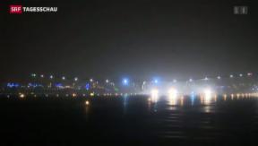 Video ««Solar Impulse 2»: 1. Etappe geglückt» abspielen