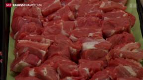 Video «Fleischimport ein Dorn im Auge» abspielen