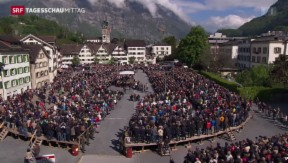 Video «Landsgemeinde: Volksfest und Politik» abspielen