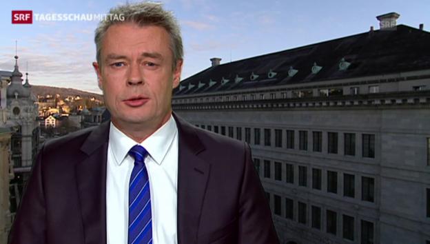 Video «SNB-Verlust: «Nationalbank ist Märkten ausgeliefert»» abspielen