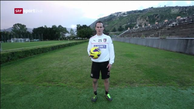 Besuch bei Steve von Bergen in Palermo