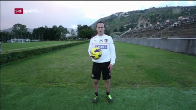 Video «Besuch bei Steve von Bergen in Palermo» abspielen