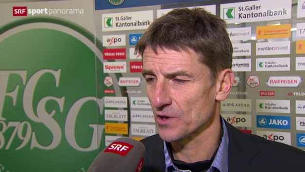 Video «Fussball: Stimmen zu St. Gallen - Zürich» abspielen