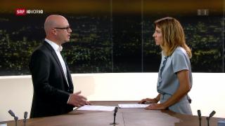 Video «FOKUS: Nahost-Korrespondent Pascal Weber im Studio» abspielen