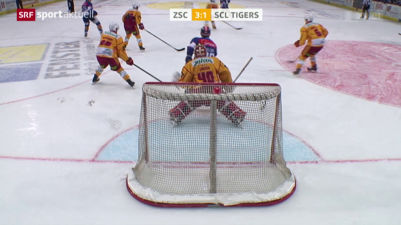 ZSC Lions sichern sich gegen die Tigers den Quali-Sieg