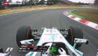 Video «Formel 1: Hamilton gewinnt in Barcelona» abspielen