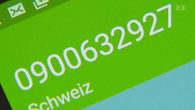 Video «Notfall-Nummer nicht erreichbar: Kein Durchkommen mit Prepaid» abspielen