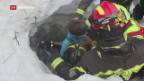Video «Mehrere Menschen aus Lawine geborgen» abspielen