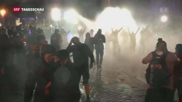 Video «G20-Krawalle: Ein Schweizer in U-Haft» abspielen