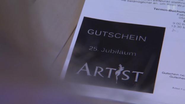 Video «Fotografen-Masche: Nun fordert Studio 50'000 Franken von Kundin» abspielen