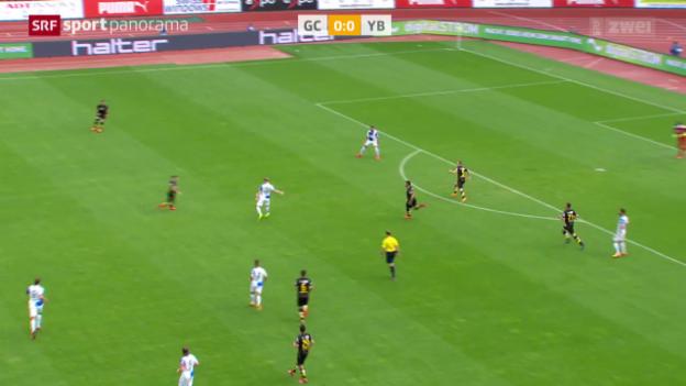 Video «Fussball: Super League, Grasshoppers - Young Boys» abspielen
