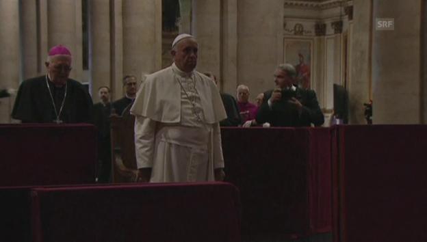 Video «Papst in Turin» abspielen