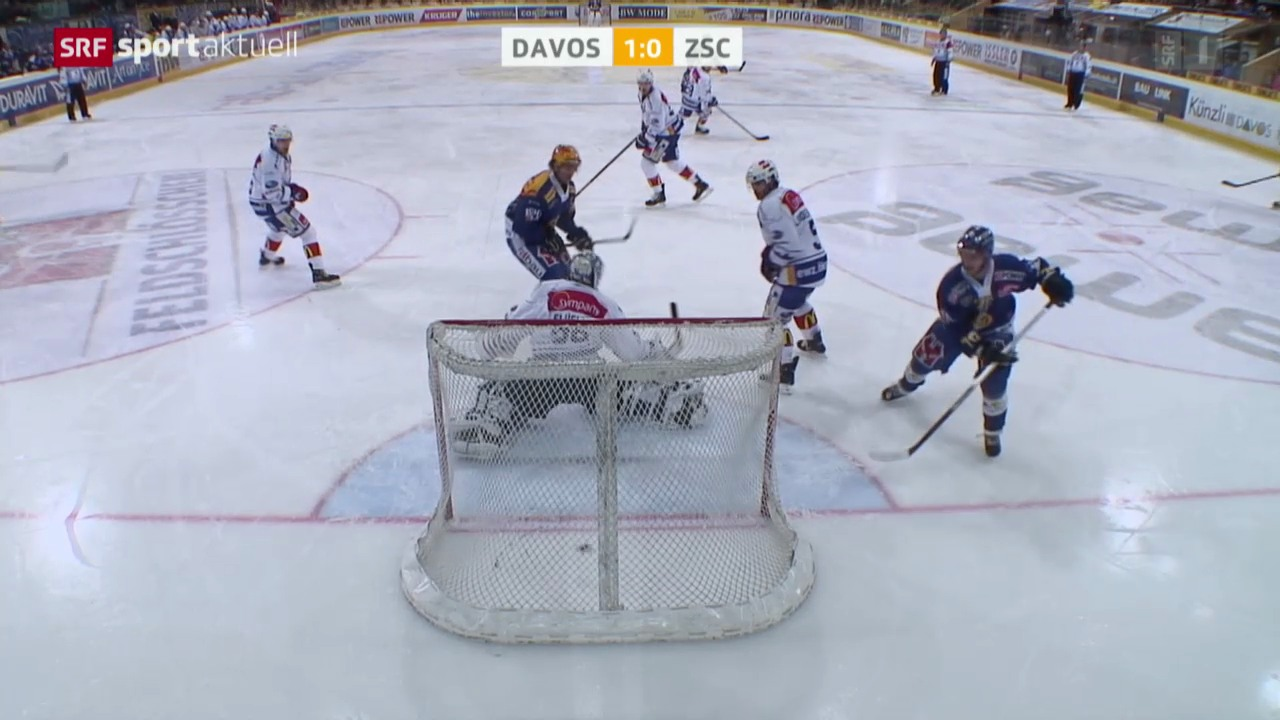 Eishockey: Davos - ZSC Lions