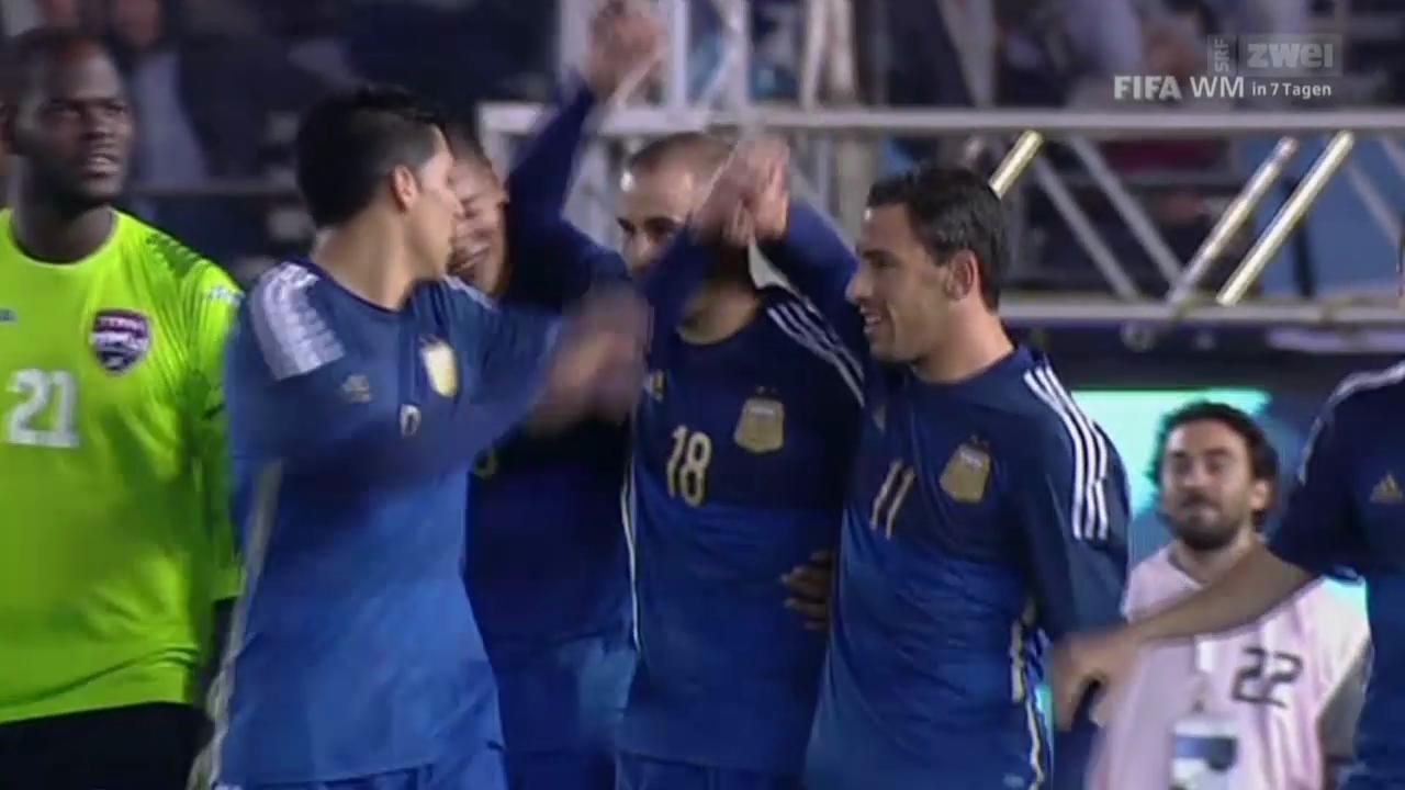 Fussball: WM-Testspiel, Argentinien-Trinidad & Tobago