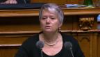 Video «Jacqueline Fehr (SP/ZH): «Es wird immer schlimmer»» abspielen