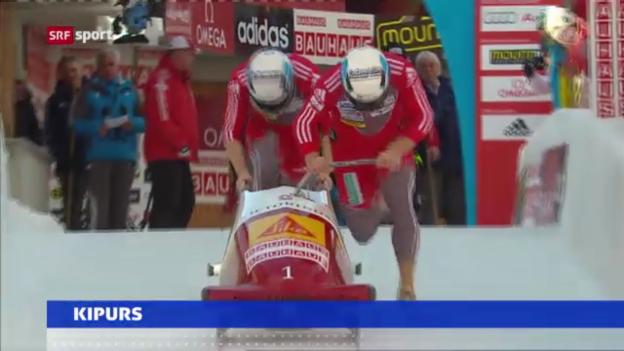 Video «Führungswechsel bei Swiss Sliding» abspielen