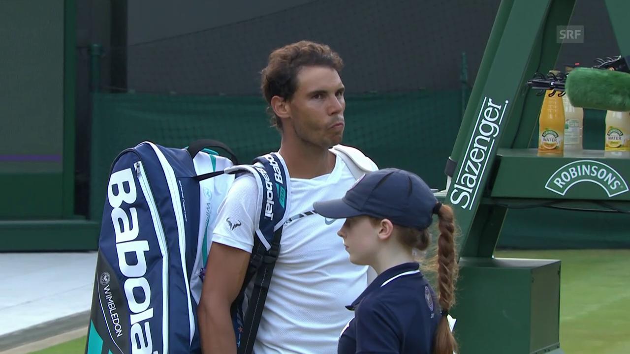 Enttäuschter Nadal nach Achtelfinal-Drama