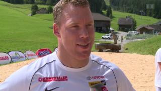 Video «Matthias Sempach freut sich auf sein Kind» abspielen