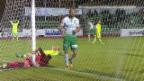 Video «Schweizer Cup, Achtelfinal: Das Siegtor bei Delémont - St. Gallen» abspielen