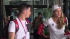 Video «Abflug der Schweizer Delegation nach Rio» abspielen
